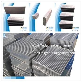 Aluminium Plate Bar Intercooler Core Oil Cooler Radiator