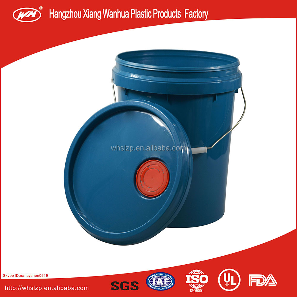 Plastic barrel to package oil paint