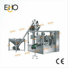Food Auto filling & sealing packing machinery for zipper pouch