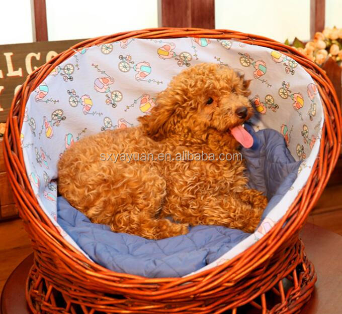 Kennel pet wholesale willow nest summer rattan dog teddy teddy VIP large and small dogs