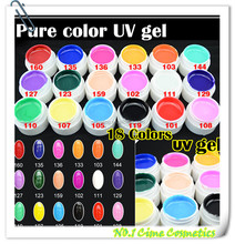 wholesale new 18 colori nail art puro <span class=keywords><strong>gel</strong></span> uv <span class=keywords><strong>gel</strong></span> unghie colorate