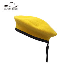 Yellow Beret Hat Wholesale 38bc858a0aa