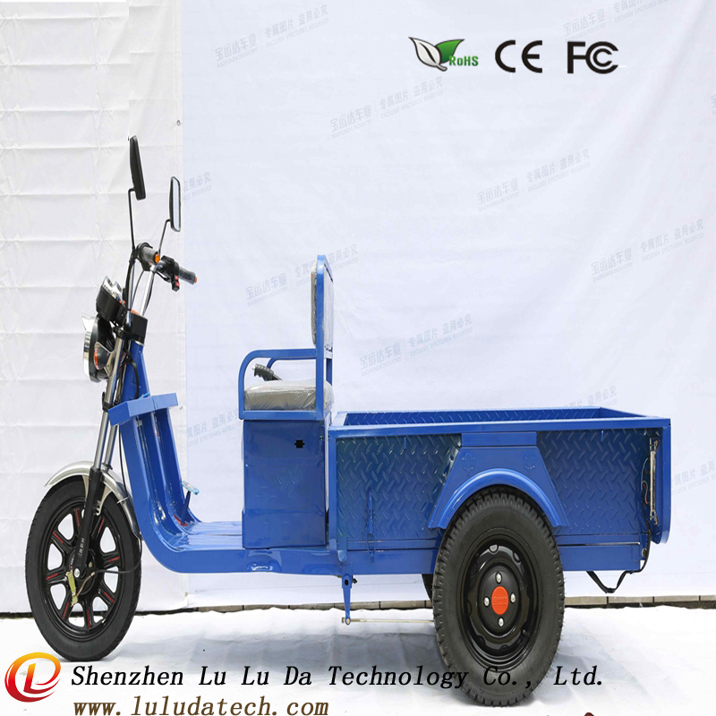 2017 new 48V700W 3 wheel cargo e-tricycle