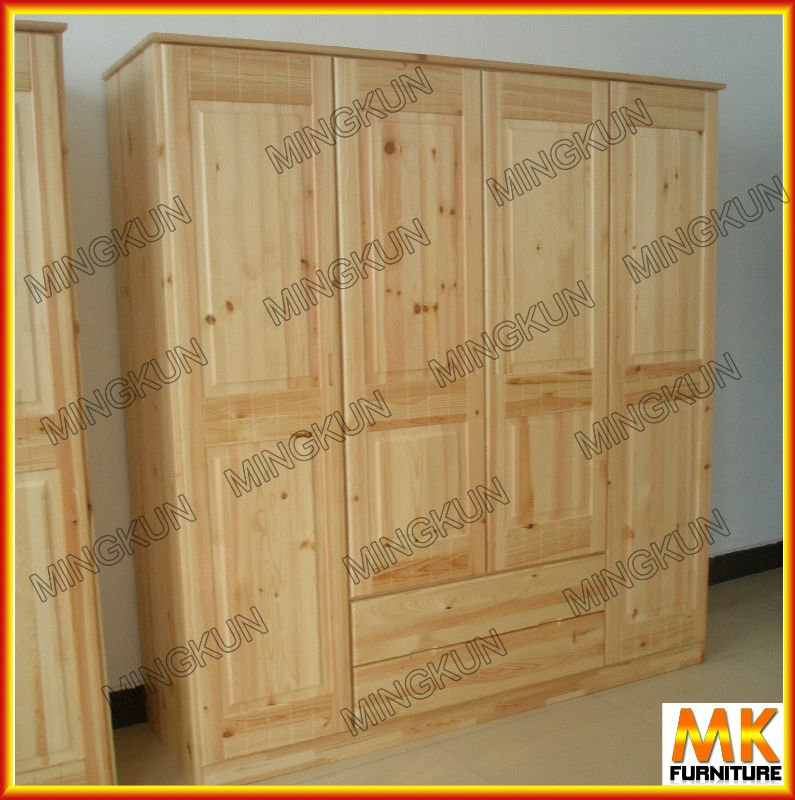 pine antique wardrobe