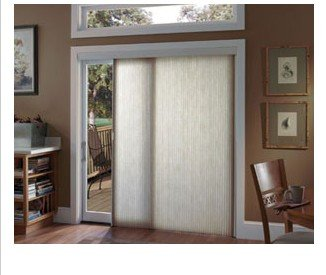 Comfortex: Vertical Blinds Alternatives: 1/2u0026quot; Virtuoso Ovation  Cellular Slider