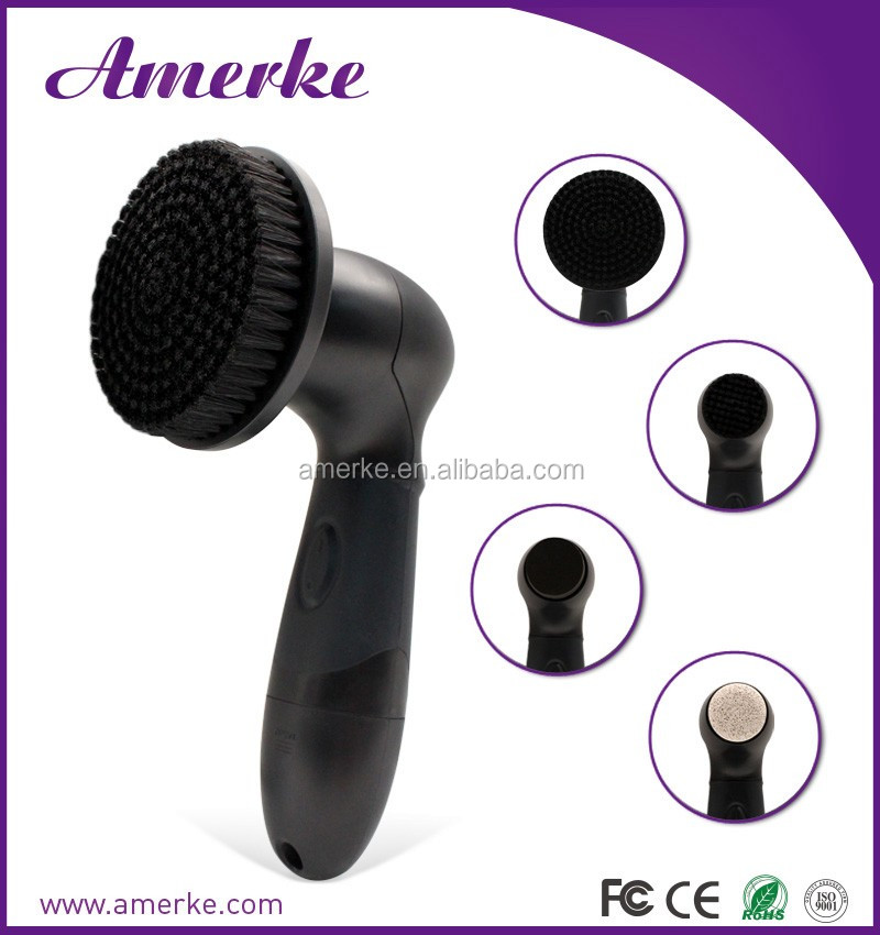 Alibaba face cleanser facial cleansing brush spin scrubber brush