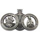 Customized St Christopher Guardian Angel Medal for Travelers Auto Car Visor Clip