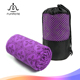custom designed anti-slip microfiber yoga towel manufacture