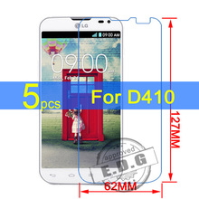 5pcs Ultra Clear LCD Screen Protector Film Cover For LG L90 Dual D410 Protective Film + cloth