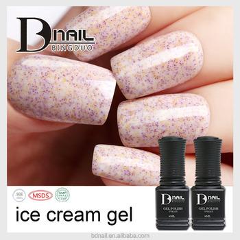 Makeup Sets Uv Gel Ice Cream Nail Gel Polish Non Yellowing Nail