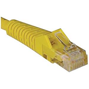 "Tripp Lite, Cat5e Cat5 Snagless Molded Patch Cable Rj45 M/M Patch Cable Rj-45 (M) Rj-45 (M) 14 Ft Utp Cat 5E Molded, Stranded, Snagless Yellow ""Product Category: Supplies & Accessories/Network Cables"""