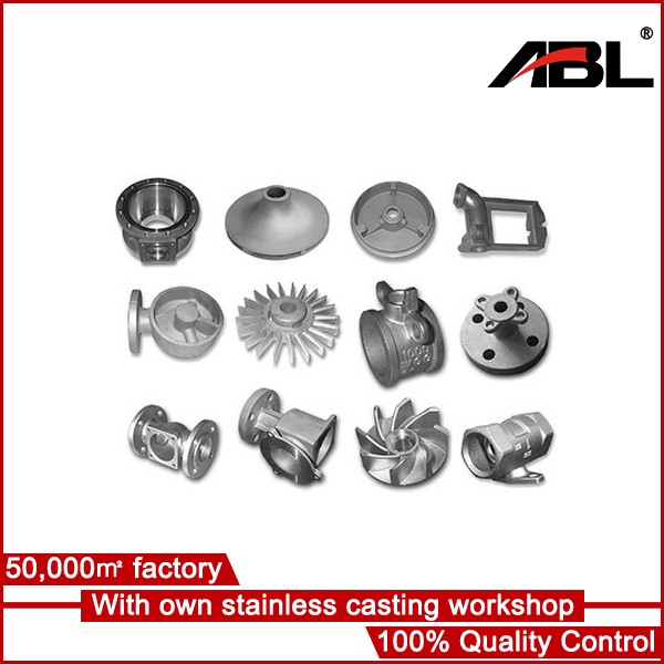 new design customized Investment casting cast decorative pieces