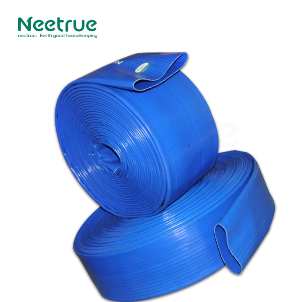 Lay flat industrial agriculture irrigation 6 inch plastic tubes