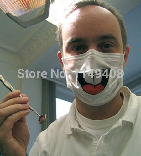 Новый забавный стоматолог передний зуб респираторная маска респиратор улыбающееся лицо уход тактическая маска, Облегчить patients' боль творческие маски