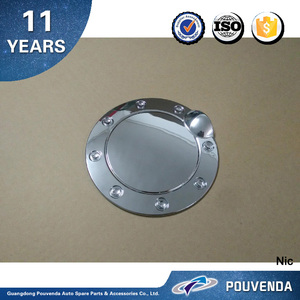 High quality ABS Chrome Fuel tank cover For Ford F150 2009-2015 Oil gas cover trim Auto Accessories from Pouvenda