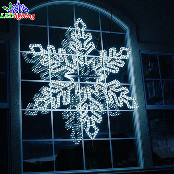 2018 newest christmas outdoor led christmas snowflake light