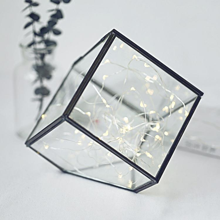 Decorative hanging Geometric Glass lighting Terrarium Wholesale