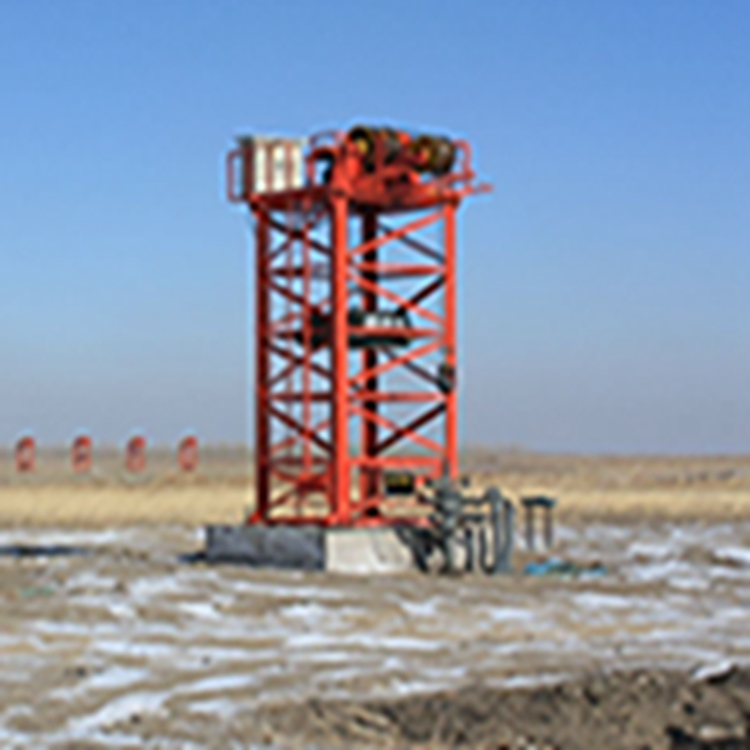 Tower type crude oil and nature gas production pumping unit