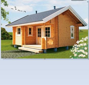 安いプレハブ木の家プレハブ住宅中国製プレハブ木材の家 - Buy 安い ...