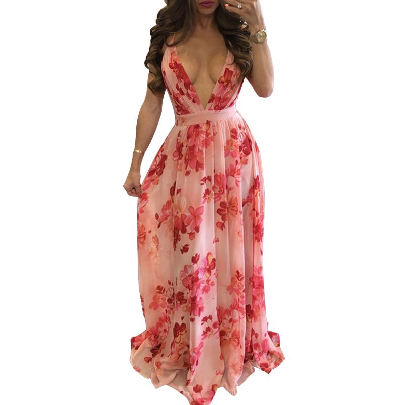 Venta al por mayor vestido playa cuello halter-Compre online los ...