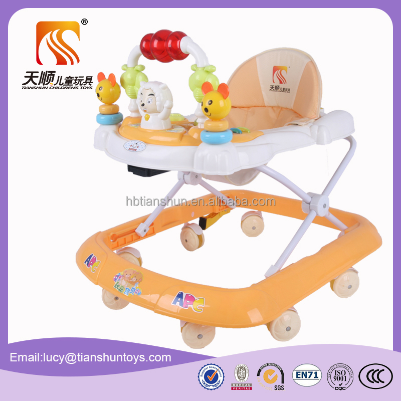 Hot selling toy vehicle ride on plastic baby infant doll walker wholesale