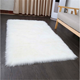 Faux Sheepskin Carpet,Faux Lambskin Carpet,Long Fur Synthetic Wool Carpet Artificial Lambskin Rugs