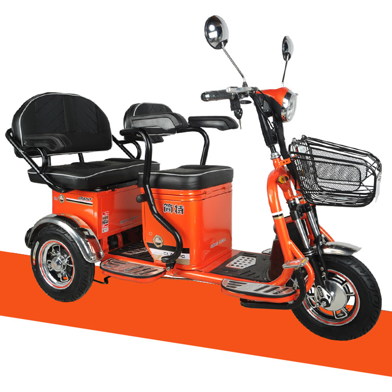 High quality china CE 48V20A lithium battery three wheels electric tricycle adults