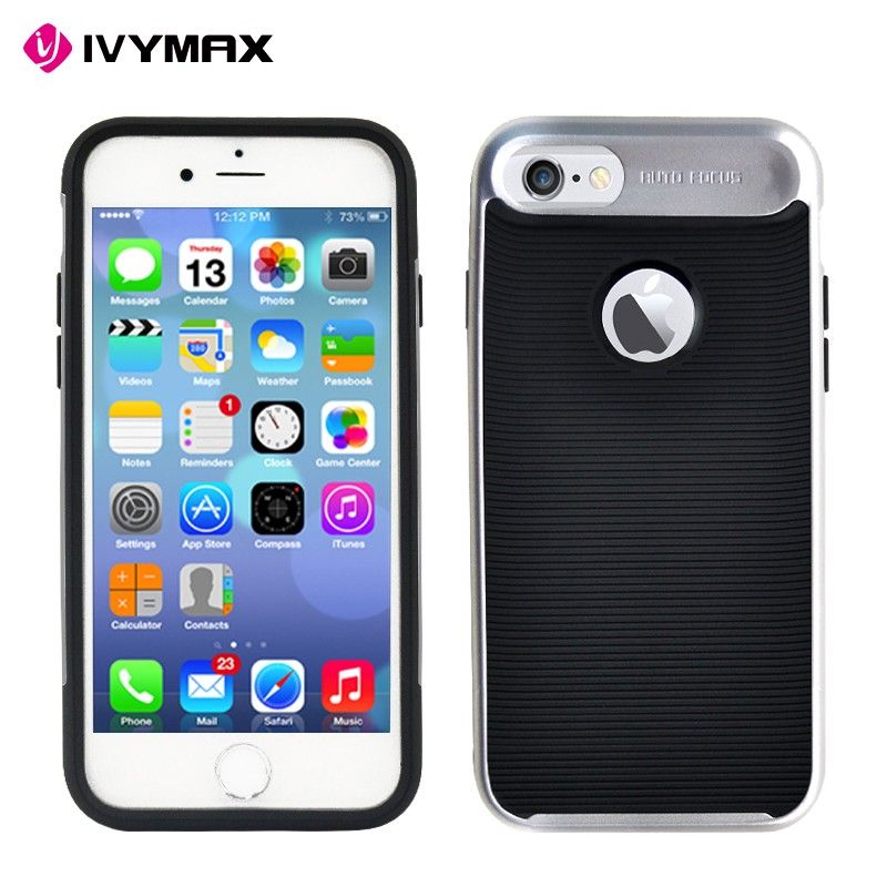 Brg newest fashionable protective hybrid phone case for Apple iphone 7