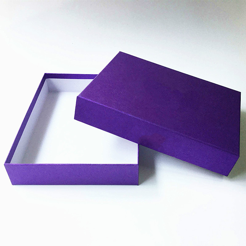 Custom Printed Paper Packing Box Cardboard Storage Gift Packaging