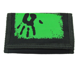 Factory direct price custom logo polyester kids wallet