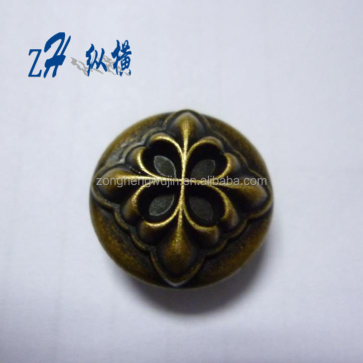 19mm fashion jeans button for cloth in alloy