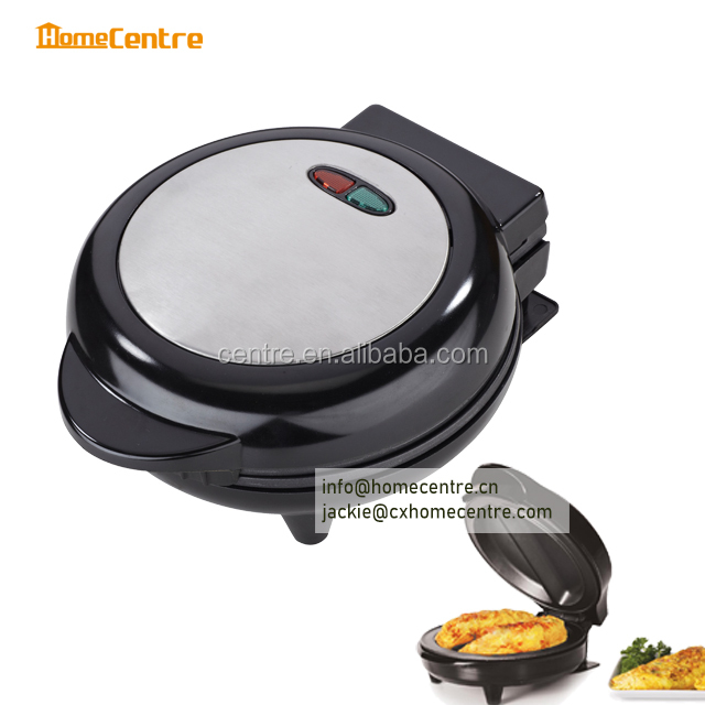 Electric Omelet maker with Stainless steel decorate cover