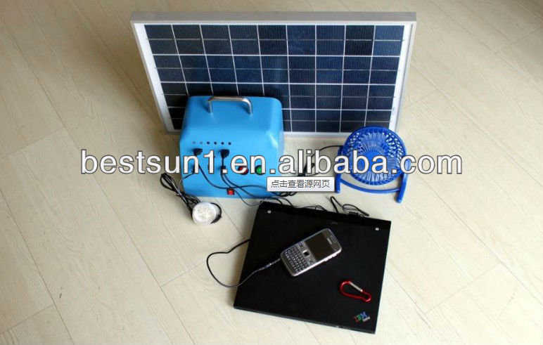 Residential Costeffective Small Off Grid Solar Home Power System genset 1000w