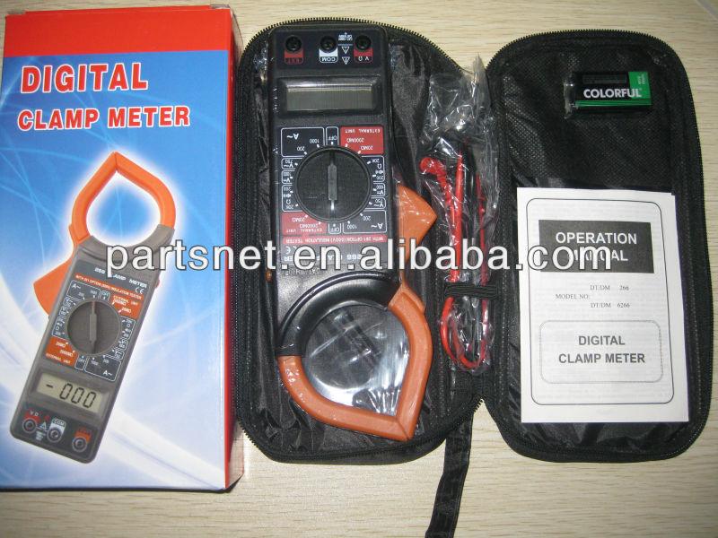 Digital Clamp Meter Dt 266 : Dt f clamp meter инструкция по эксплуатации