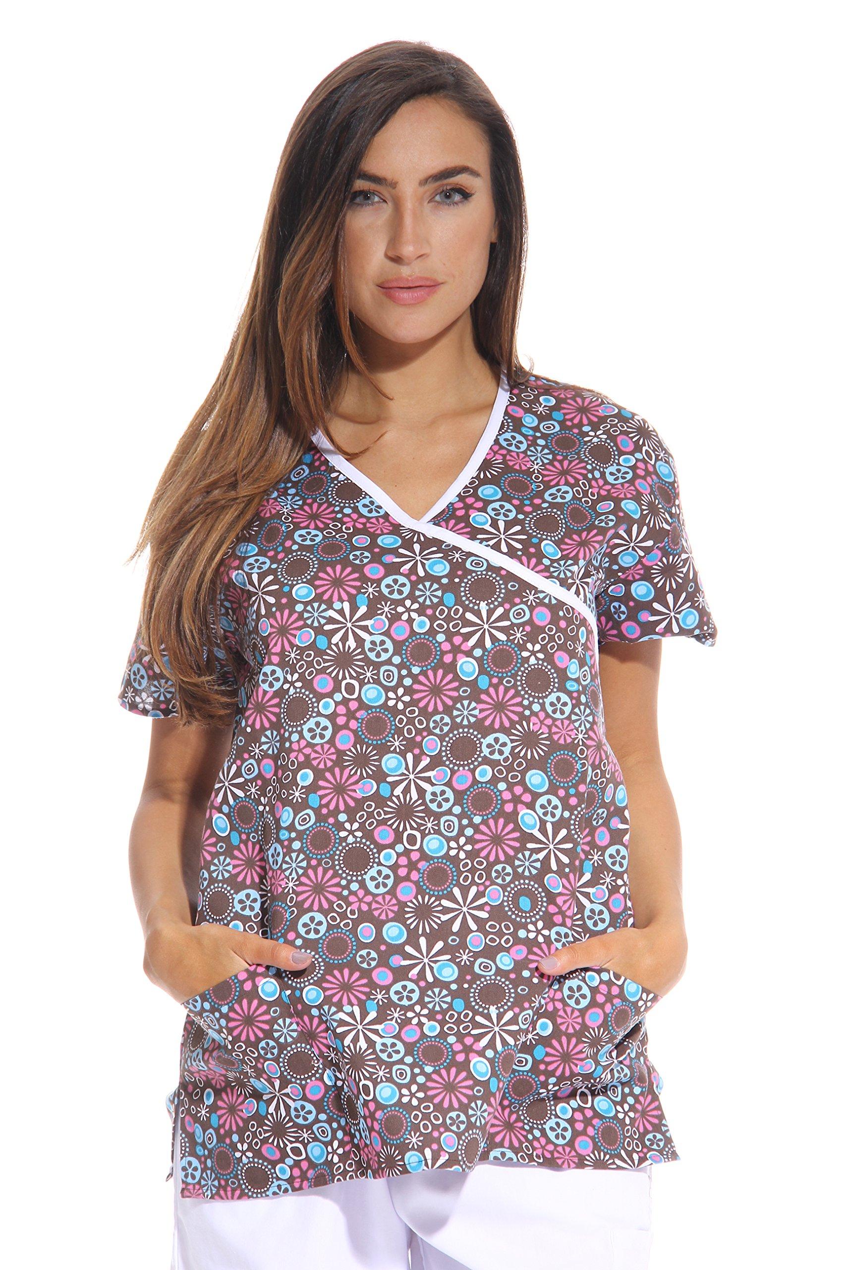 3288a31baa5 Get Quotations · Just Love Women s Scrub Tops Scrubs Nursing Scrubs