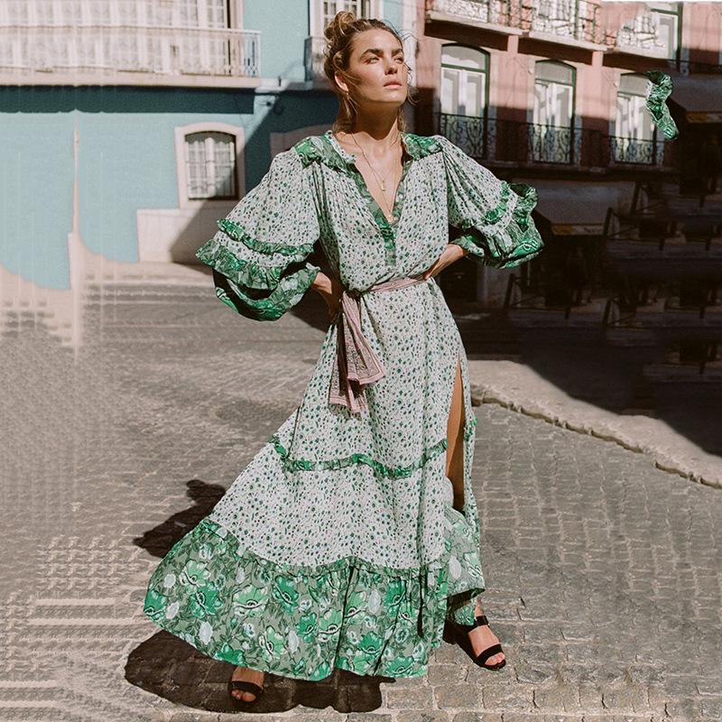 ed59d2216 Venta al por mayor hippie vestidos-Compre online los mejores hippie ...
