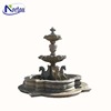 Outdoor stone marble building fountains for garden decoration NTMFO-Y008