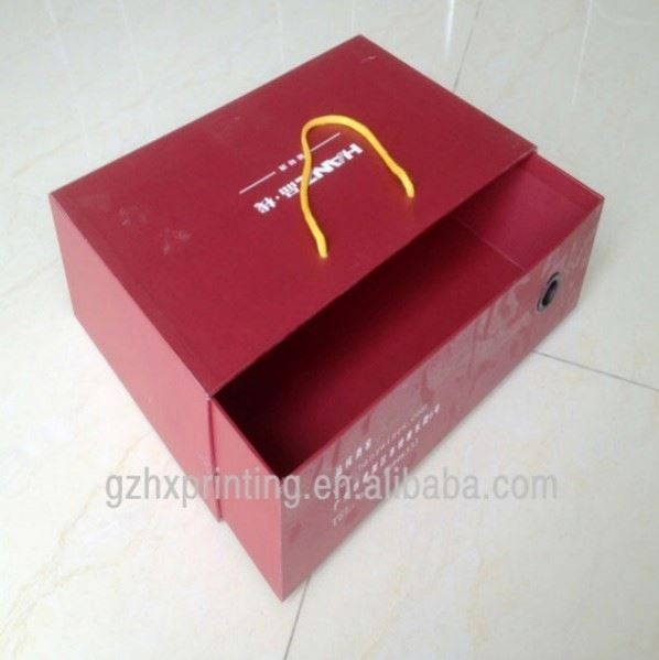 OEM /ODM printed aluminum foil paper box for home appliance