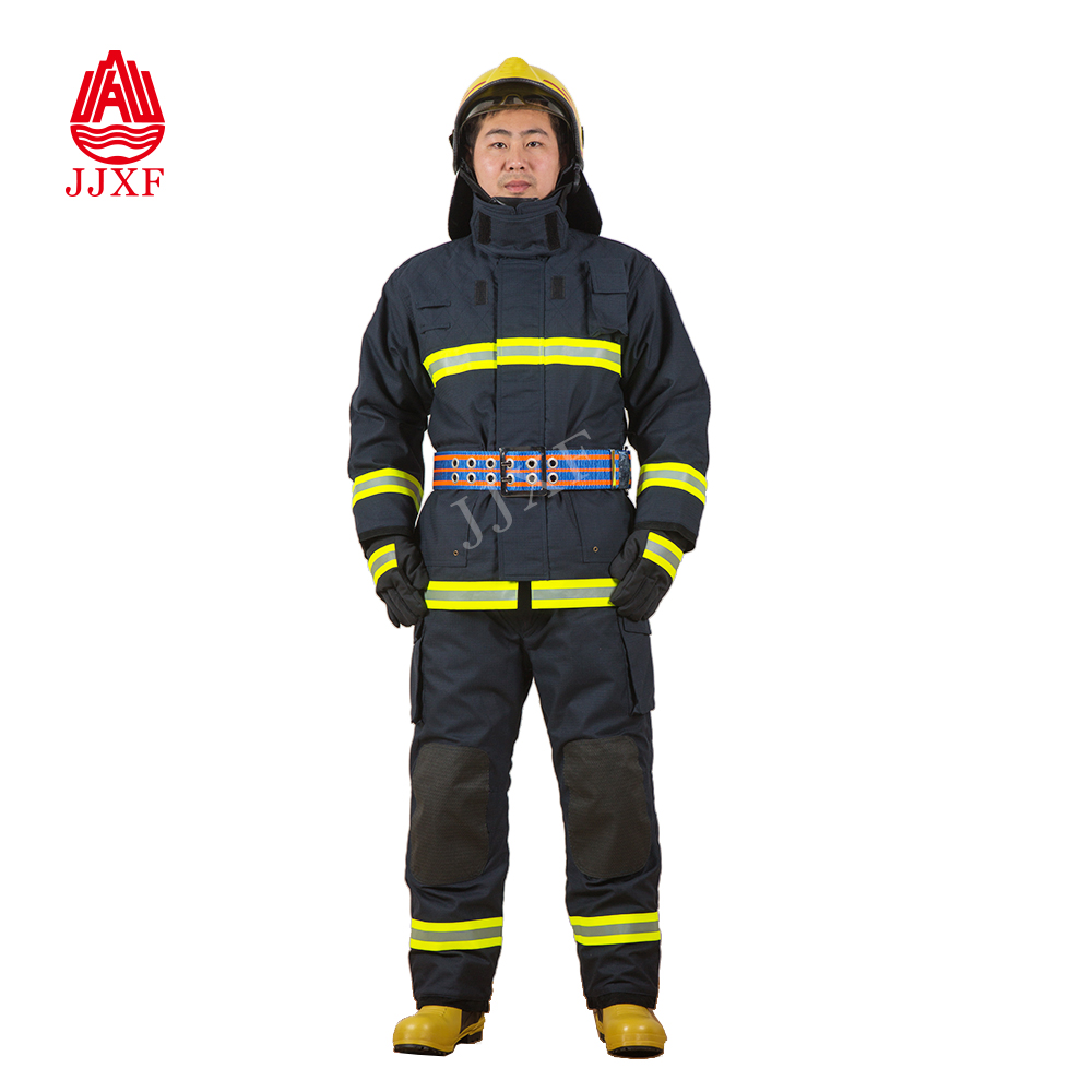 Firefighter Uniforms Fire Resistant Clothing Fireman firefighting suit Nomex IIIA firefighter suit with CE, EN469 Standard 05