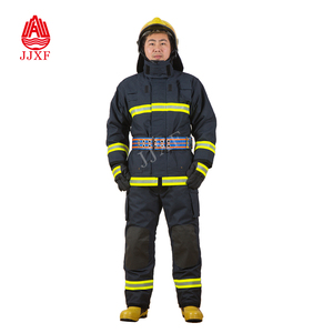 Firefighter Uniforms Fire Resistant Clothing Fireman firefighting suit IIIA firefighter suit with CE, EN469 Standard 05
