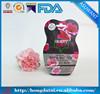 HDT as u want custom shape plastic bag for face mask pakcaging