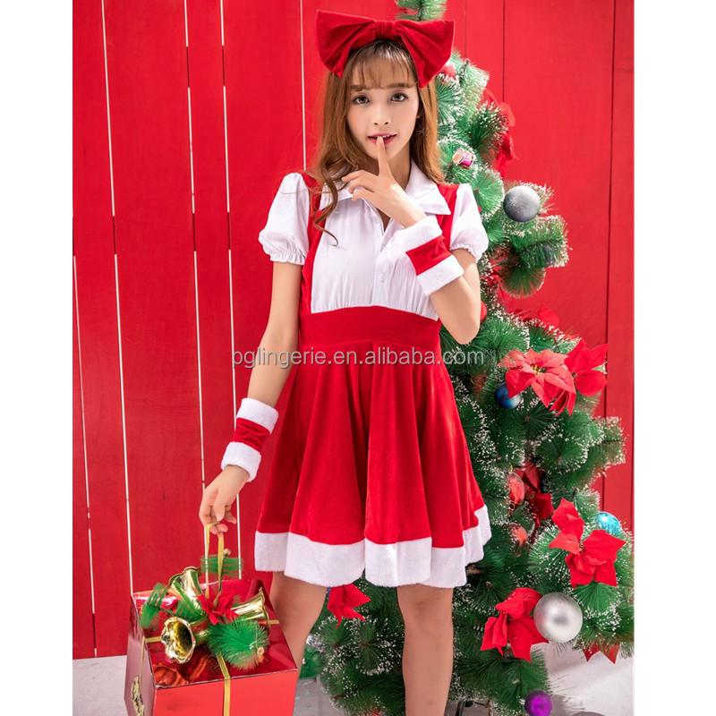 ff029b704e Santa Claus Costume For Girls