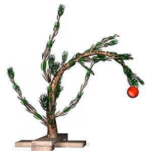 wgh99401 charlie brown christmas tree vinyl wall decal graphic - Charlie Brown Christmas Tree For Sale