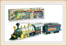 electric model steam locomotive toy