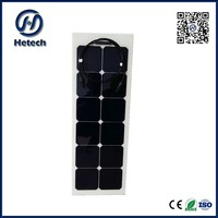 38w flexible wafer thin solar panels For Home or Commercial