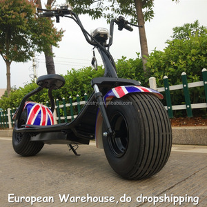 European Warehouse EEC Scooter Brushless Motor Motos Mini Folding Pocket Moped 1500W 60V 12AH Electric