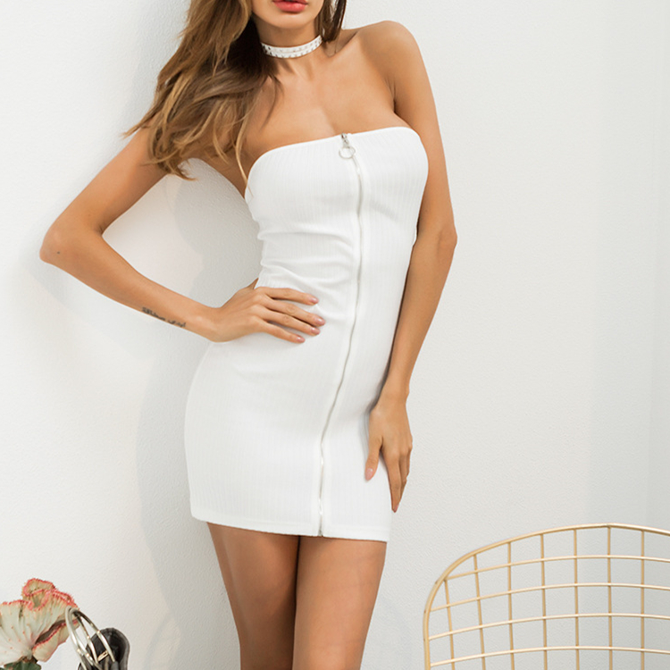 White Tight Dress