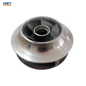 6 inch water pump spare parts impeller