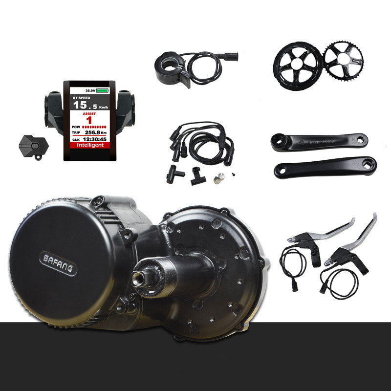 bbs01 36V 250w 350w Bafang 8fun bbs02 48V 500W 750W mid drive motor kit electric bike conversion kit