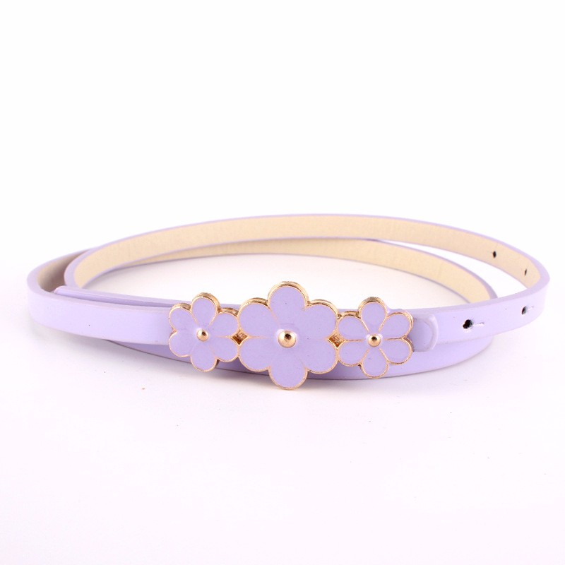 good design casual needle buckle braid leather belts